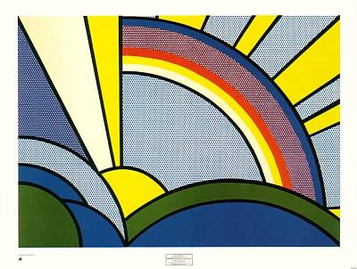Sun Rays by Roy Lichtenstein