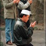 Chinese Muslims in Xinjiang province