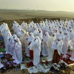 Indonesian Muslim women from Java pray Eid in 2007