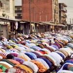 Jumah prayer in Ivory Coast, Africa
