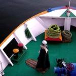 Salat on a ship