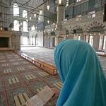 Muslimah in a masjid