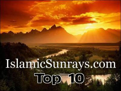Islamic Sunrays top ten posts