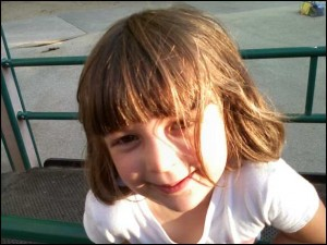 Salma smiling