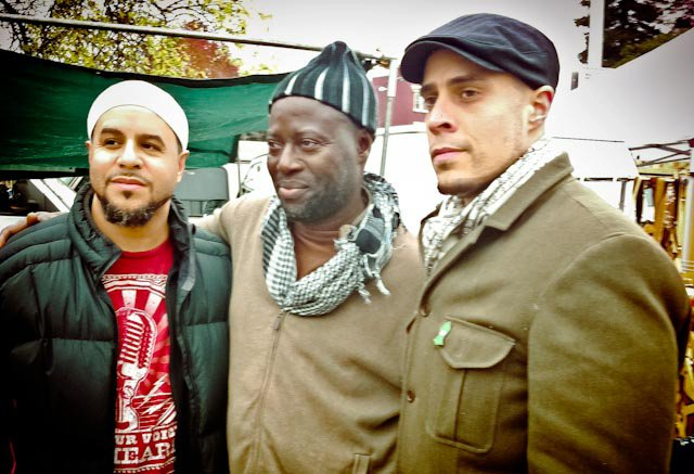 Mustafa Davis, Khadim, and Usama Canon