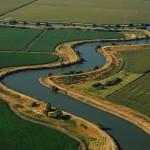 Sacramento River Delta farmland
