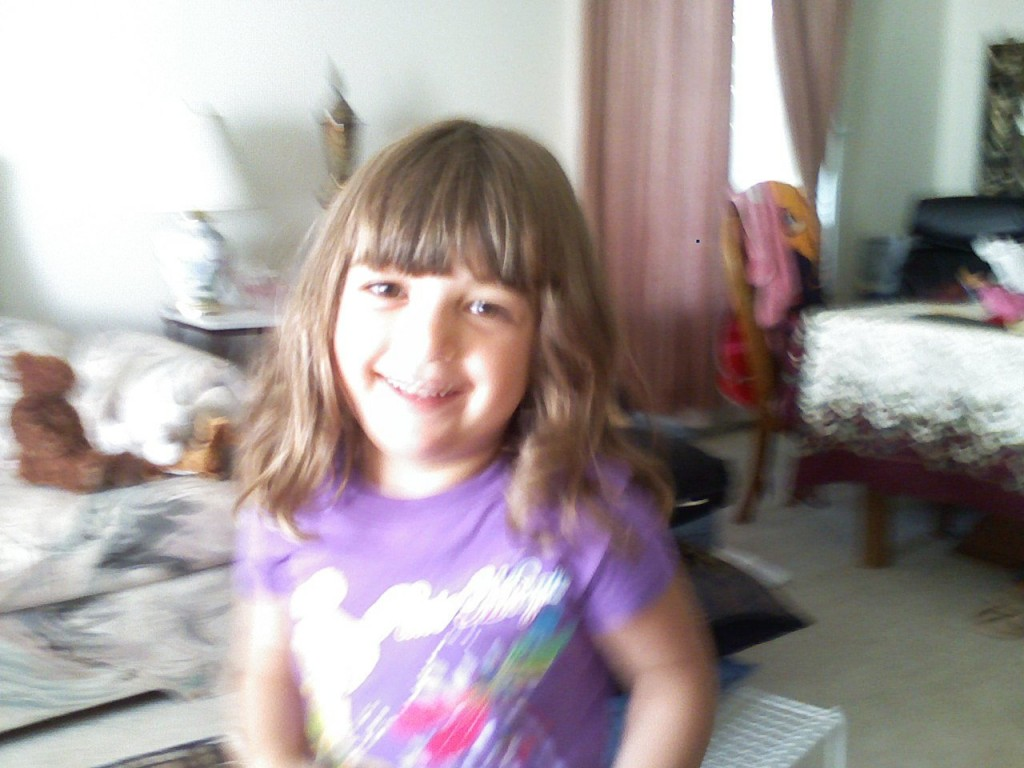 My daughter Salma, 7-9-2011