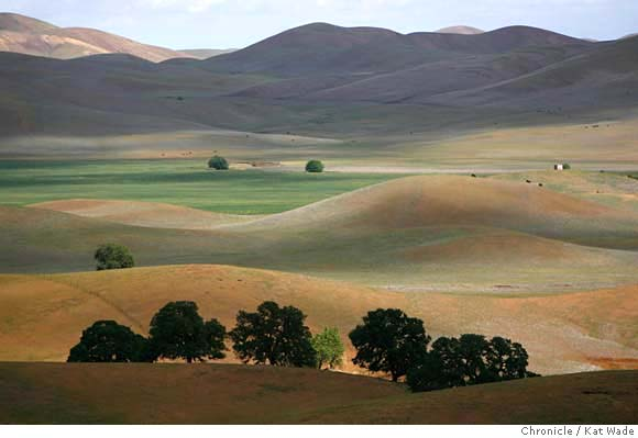 Colusa County valley, California