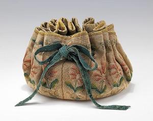 A medieval purse circa 1600.